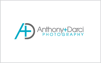 Anthony+Darci Photography Logo