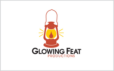 Glowing Feat Productions Logo