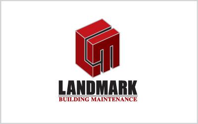 Landmark Building Maintenance Logo