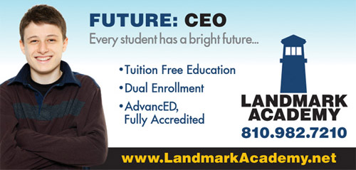 Billboard for Landmark Academy
