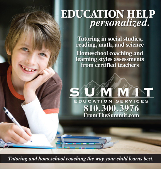 Ad for Summit Education Services