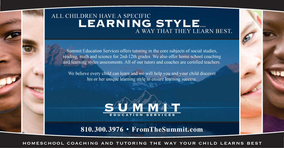 Trade show display for Summit Education Services
