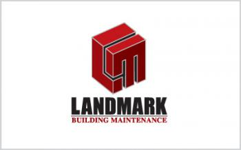 Landmark Building Maintenance Logo