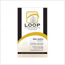 Business Card for Loop Conference Center
