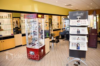 Naples Optical store interior in Naples, FL